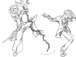 Michael Jackson's Blazblue by SolidCow