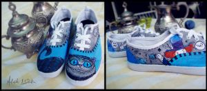 Wonderland Sneakers by MuffyB