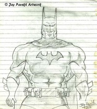 Batman - complete with Utility Belt by Mettalicslash