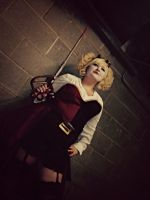 Steampunk!Harley Quinn #2 by tardisfullofponds