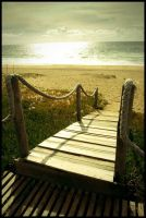 stairway to the beach by cnsmeira