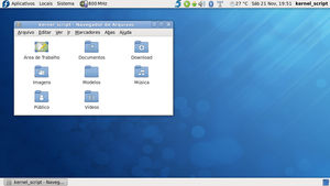 Fedora 12, Laptop, 2009-NOV-21 by kErNeL-sCrIpT