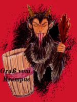 Greetings from Krampus by chaosqueen122