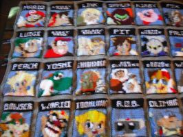 Super Smash Bros Brawl Blanket by DearAngelTori