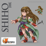 Shiho Sprite HD by personauser