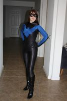 Female Nightwing by icantthinkofaname-09
