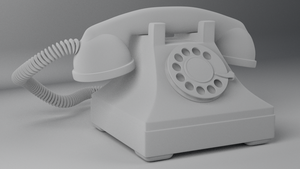 Rotary Phone by RegusMartin