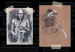 Jazz sketches by monyesse