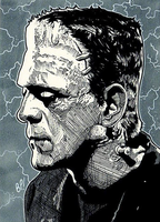 Frankenstein's Monster by Bill-Pulkovski