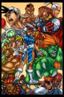 Capcom poster by Mike Brooks by GreeneLantern
