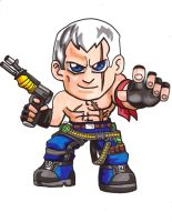 Pocket Fighter - Bryan Fury by fastg35