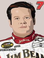 Robby Gordon by Foxihead