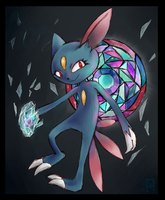 Sneasel by Vuohii