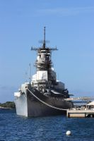 USS Missouri by CAStock
