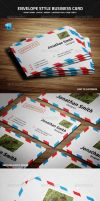 Envelope Style Business Card by nazdrag