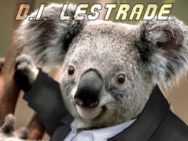 D.I. Lestrade the Koala by WolframD