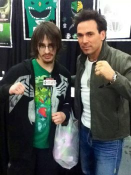 JDF and I at Wizard-World Comi-Con in Tulsa. by htrevor28