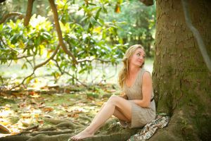 Katie under Mississippi Magnolia by Tommy8250