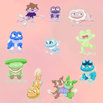 Froakie Variations by Chenanigans