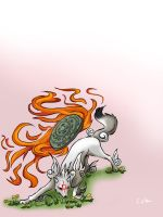 cuz we love okami by cottondragon