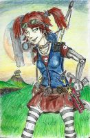 Borderlands 2 - Gaige by Action-Crab