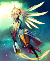 Mercy - overwatch by Renuski