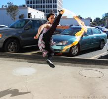 Avatar the Last Airbender: High Kick by FlashyFashionFraud