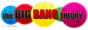 The Big Bang Theory Logo (FAN Made) by Juniorph