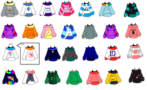 All of Taylors Jackets by love-me-drowned