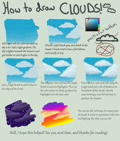 How I Draw Clouds by TakenFlyght