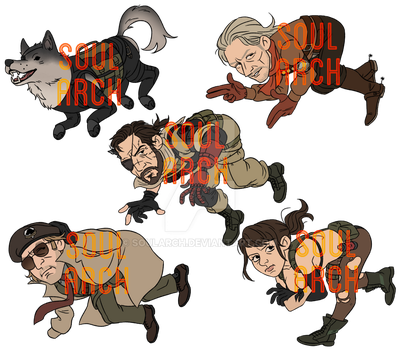 MGSV CHARM PREORDERS! :^D by soularch