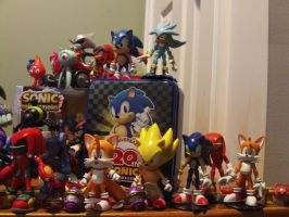 My Sonic Figure Collection 5.4 by DominicSega123