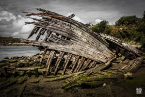 Destroyed ship by sylvaincollet