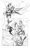 Black widow fear it self pg5 by Peter-v-Nguyen