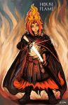 Flame Princess Baratheon by TheLivingShadow