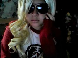 Female Dave Strider: What Up? by Jessipoodle