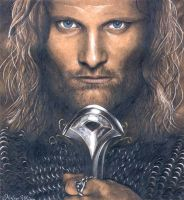 Aragorn by Kirstine