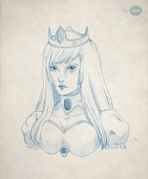 Ice Queen Bust by Ellygeh