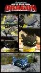 Toothless (Modelling Clay) by Briskenzu