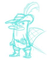 PnF - Platypus in Boots by dontclimbontheIguana