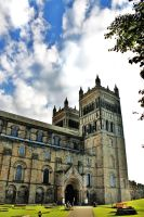 Durham Cathedral by HexeMistelzweig