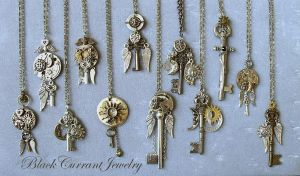 Celestial Keys II by blackcurrantjewelry