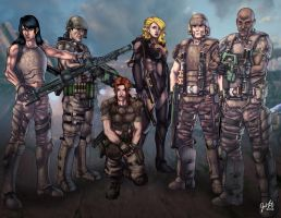 Colonial Marines Fire Team 40 by JosFouts