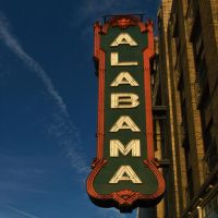 alabama theatre by icondigital