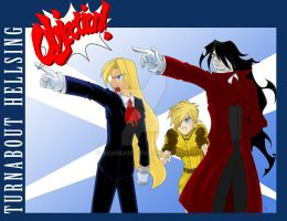 Turnabout Hellsing-Completed by ReiHikari