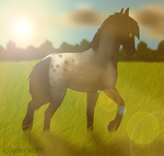 A Walk in the Pasture by DaytonaBot