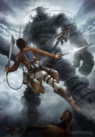 Attack on Colossus by Risachantag