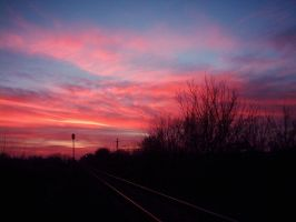 sky is on fire by nmoreKharon