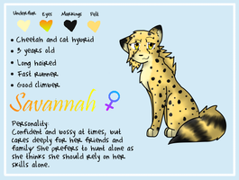 Savannah Referance by xMandakax