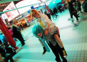 Mikuo and Len by KyoyaxL